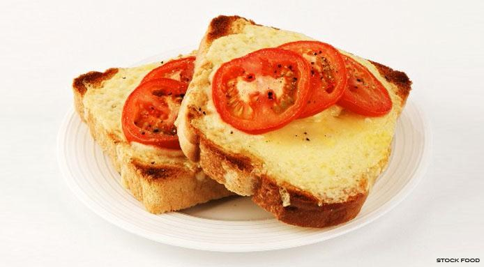 Cheese Tomato Toast