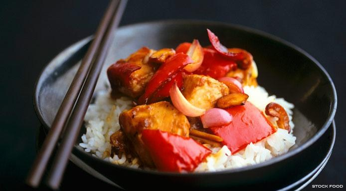 Chicken Red Peppers