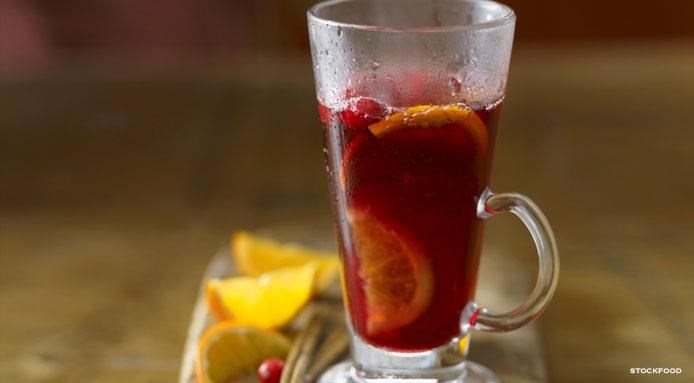 Christmas Punch with Rum