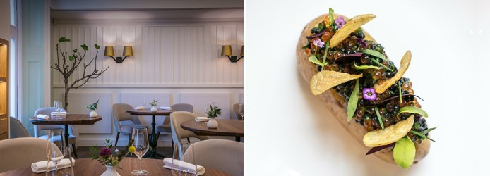 Core restaurant | Charlotte potato herring trout roe by Clare Smyth