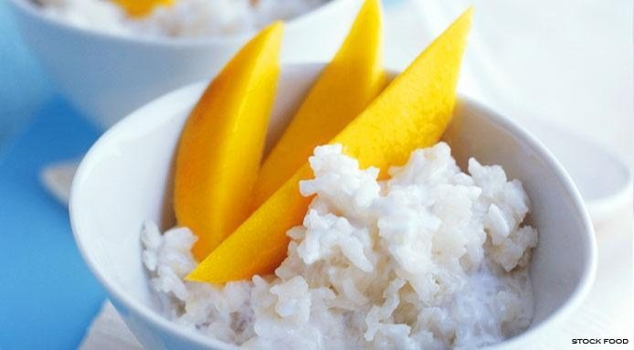 Coconut Rice with Mango