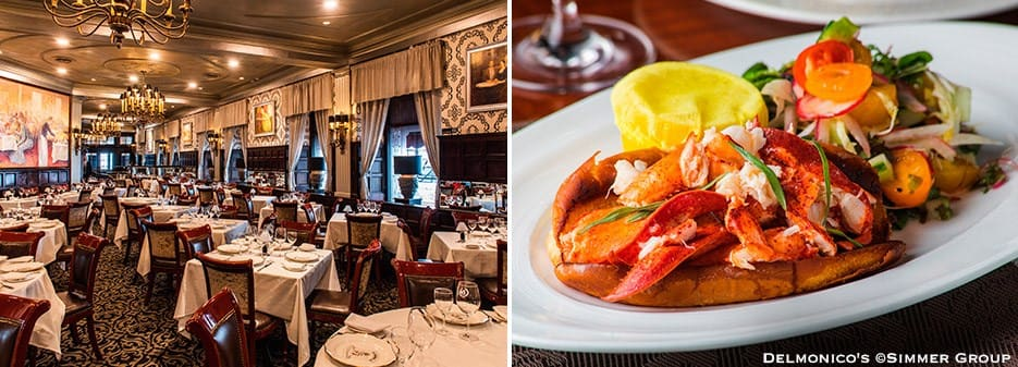 Delmonico's Restaurant in New York