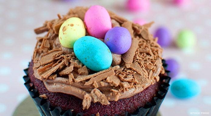 Easter Chocolate Cupcake