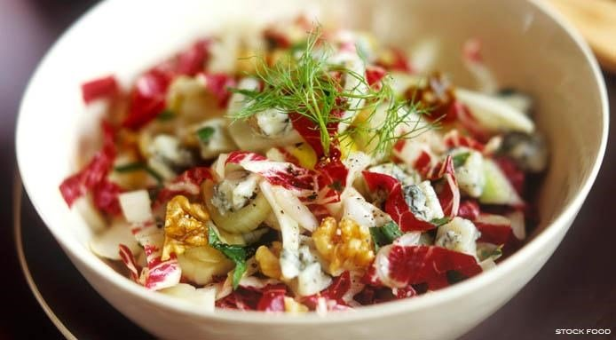 Fennel and Radicchio Salad