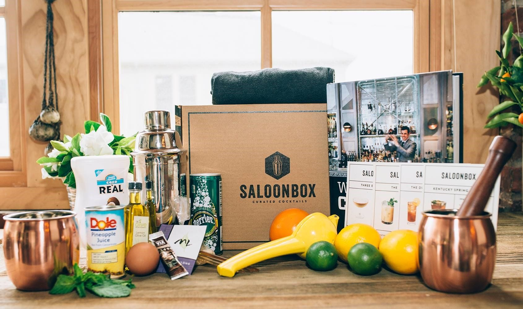 Food Boxes - Saloon Box