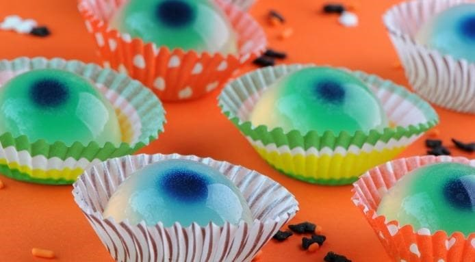 Halloween Jello Eyeballs
