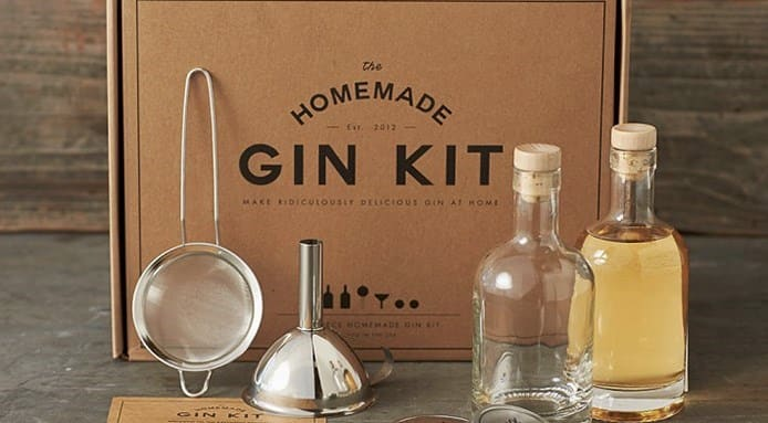 Homemade gin-maker