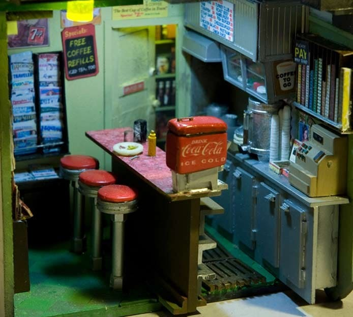 Miniature Urban Sculptures by Alan Wolfson | Luncheonette