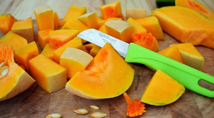 couper citrouille