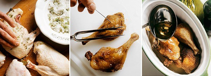 How to prepare Confit Duck