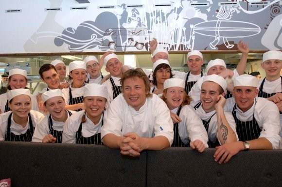 Jamie-Oliver-trainees