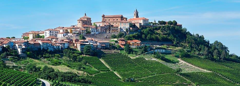 Langhe Region in Piedmont, Italy