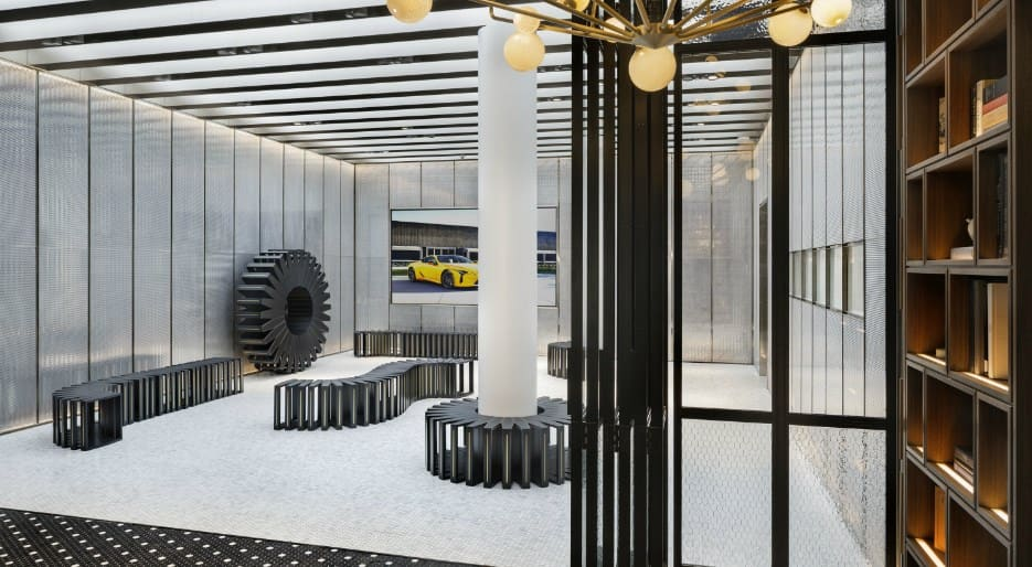 Lexus Intersect New York gallery space
