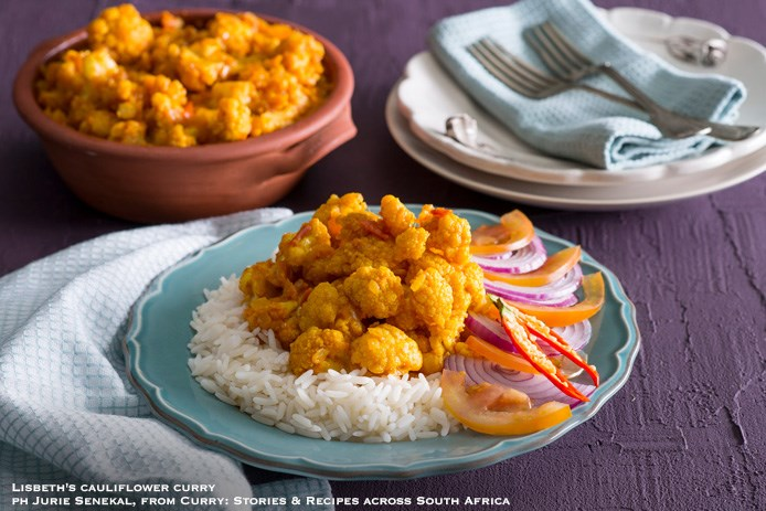 Lisbeth cauliflower curry