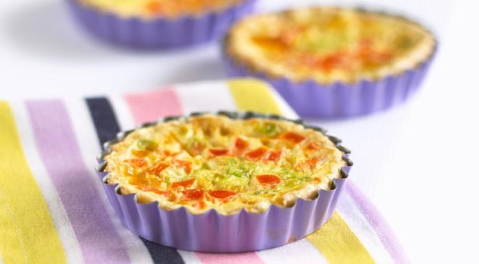 Mini Quiche Vegetable