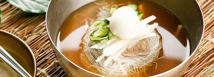 North Korean mul-naengmyeon