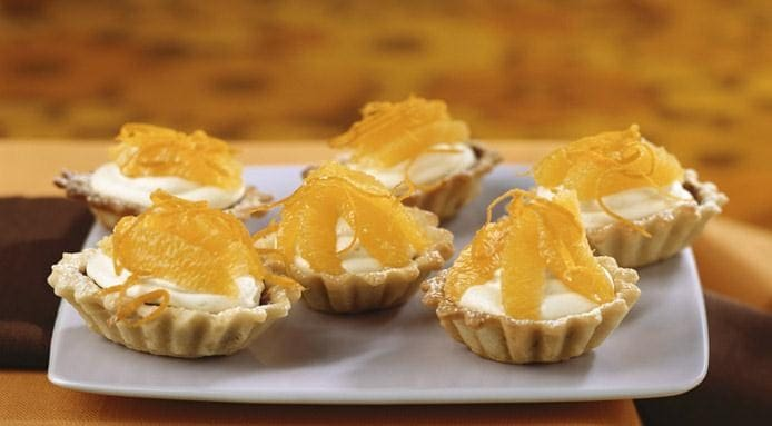 Orange Tartlets