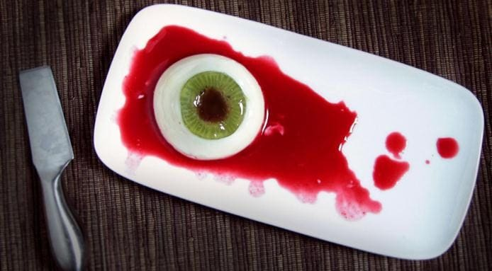 Halloween | Panna Cotta Eyeball