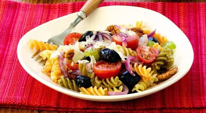 Pasta Salad with Tomatoes