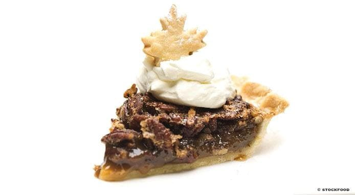 Pecan Pie with Cream