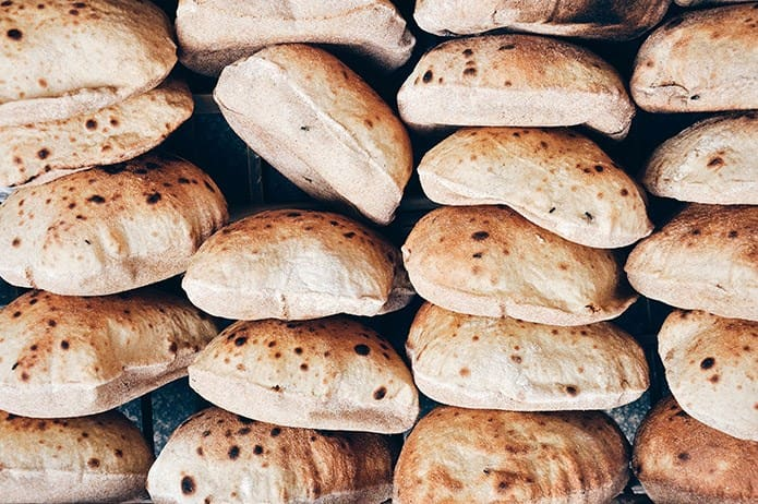 Pita Bread in Cairo