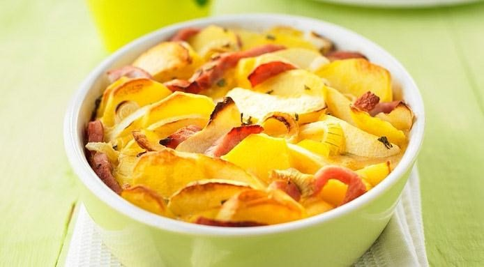 Potato Apple Gratin