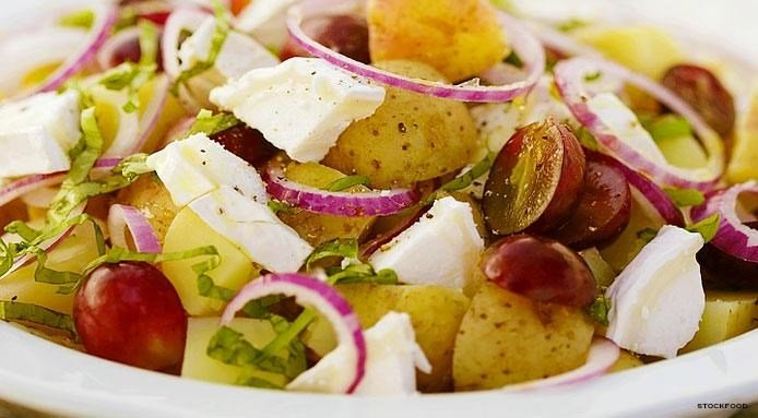 Potato Salad with Goat Cheese