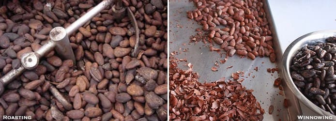 Roasting-Winnowing-cocoa
