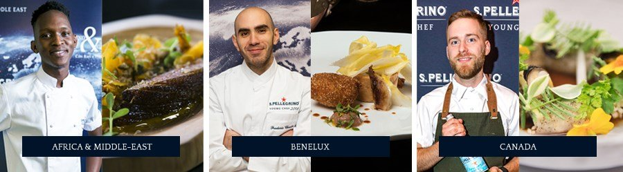 S.Pellegrino Young Chef - Africa Middle East, Benelux, Canada