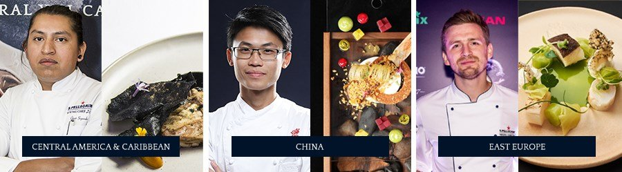 S.Pellegrino Young Chef - Central America and Caribbean, China, East Europe