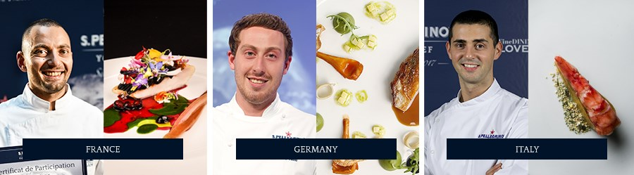 S.Pellegrino Young Chef - France, Germany, Italy