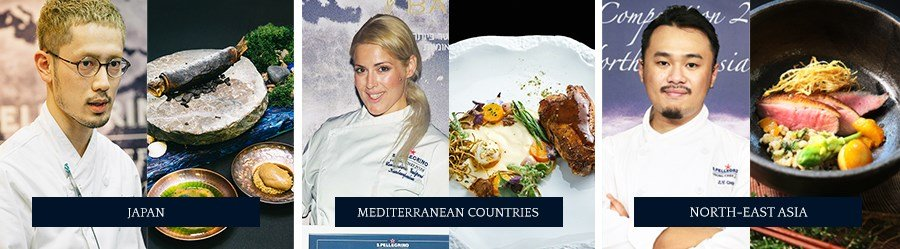 S.Pellegrino Young Chef - Japan, Mediterranean Countries, NorthEast Asia