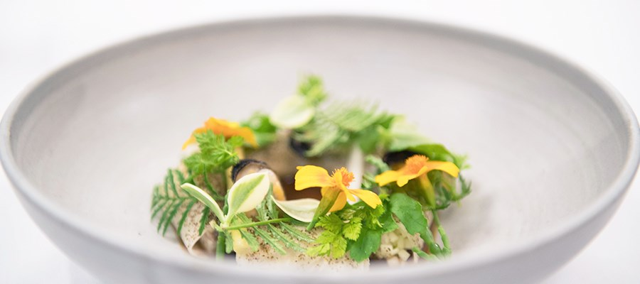 S.Pellegrino Young Chef 2018 Benjamin Mauroy-Langlais signature dish