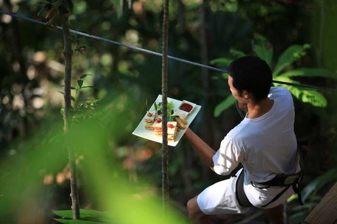 Thailand's Treetop Restaurant | Soneva Kiri, the Food