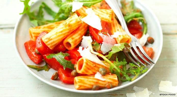 Spicy Pasta with Tomatoes