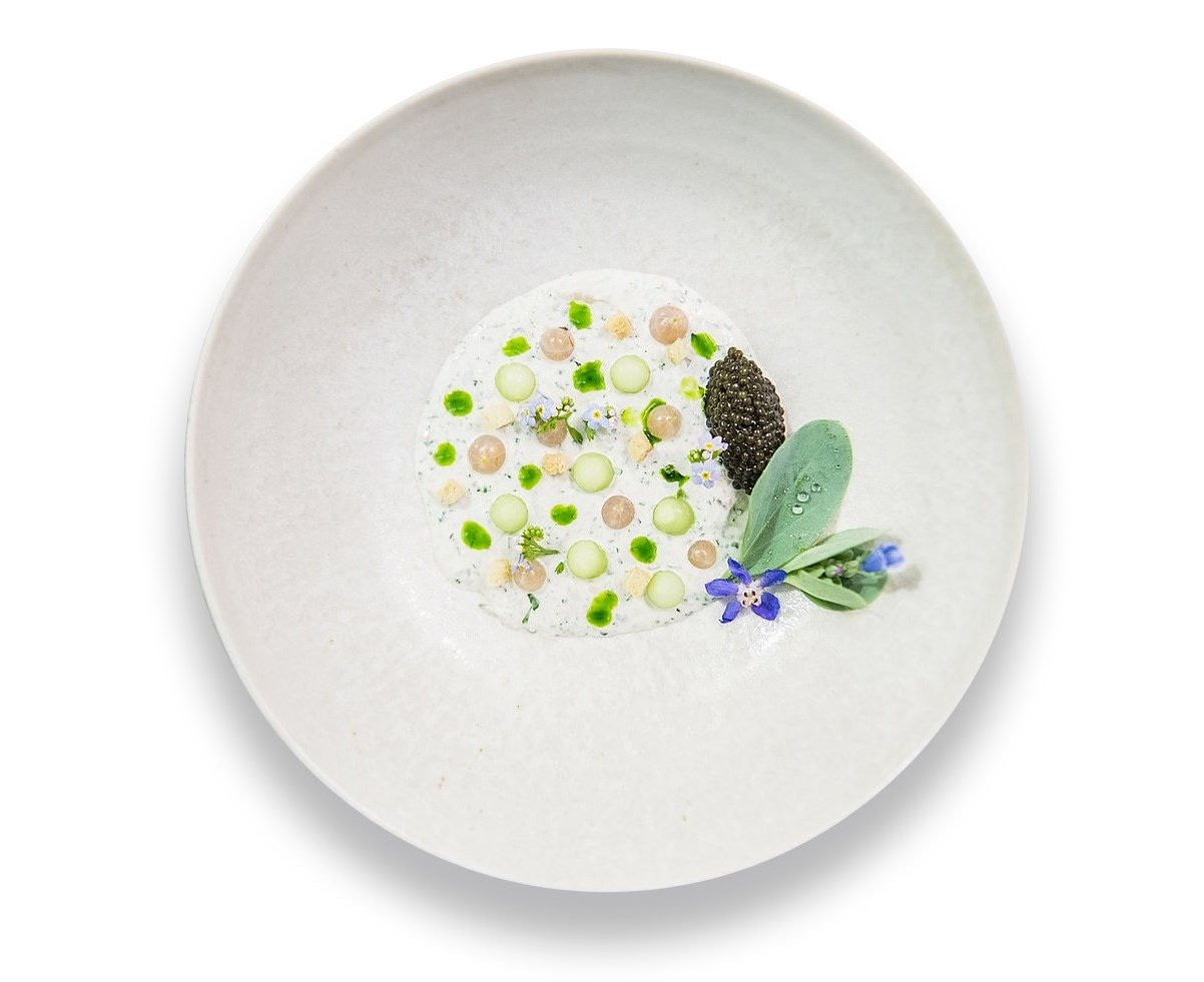 Christian Gadient's dish - The Art of Plating