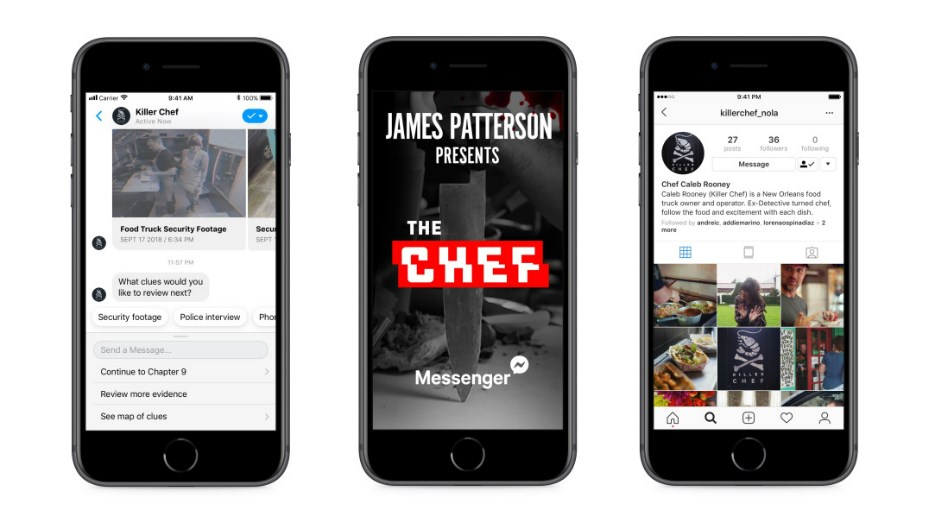 The Chef James Patterson Facebook