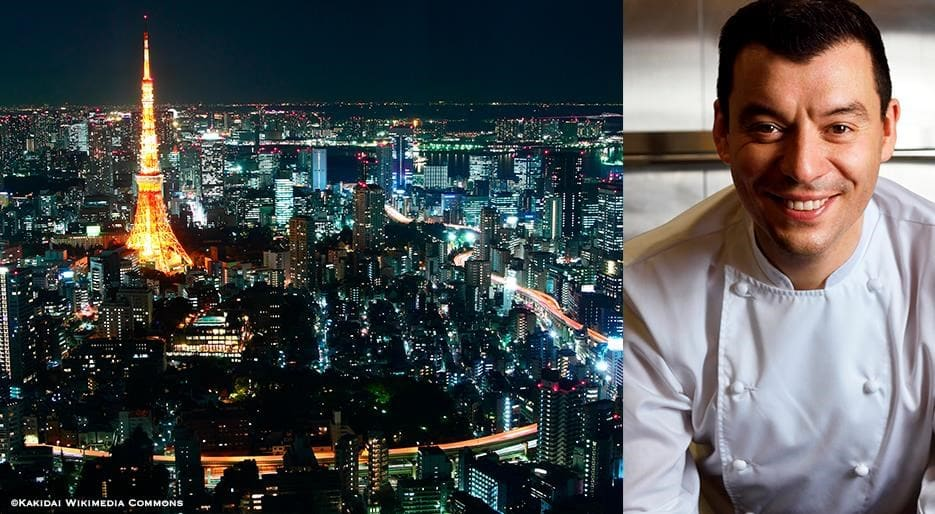 Tokyo with chef Luca Fantin