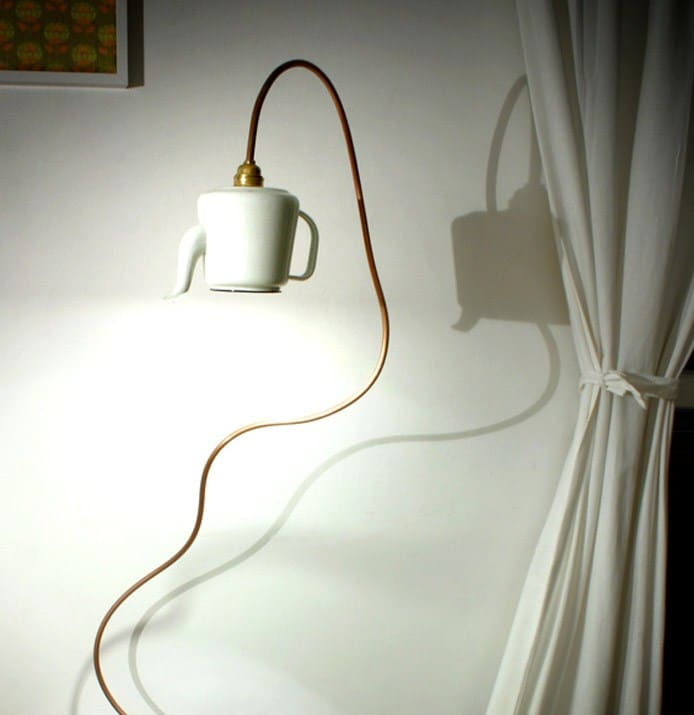 Teapot Lamp | White
