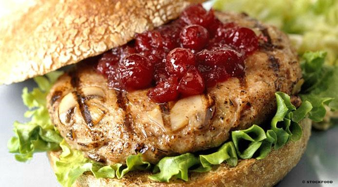 Turkey Burger Cranberry
