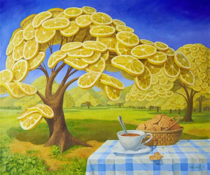 Vitaly-Urzhumov-lemon garden and tea and cookies