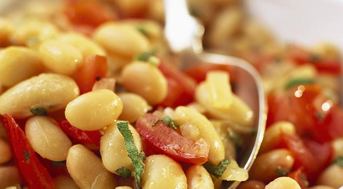 Meatless | White Bean Salad