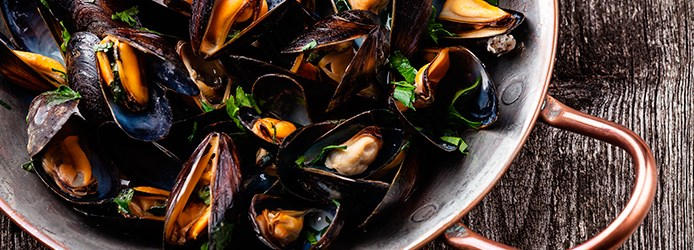 Mussels Facts | Wine Marinara Mussels