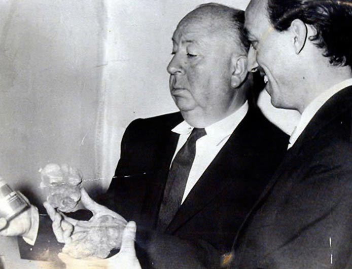 Alfred Hitchcock And Truffles