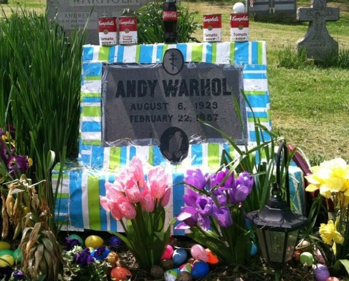 Andy Warhol Tomb Art | Decorated Tomb