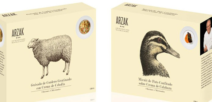 Arzak Restaurant Packaging | Boxes