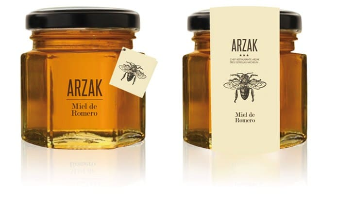 Arzak Restaurant Packaging | Honey
