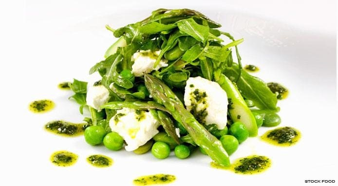 Salad | Asparagus Goat Cheese
