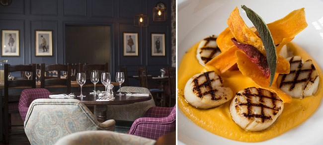 Places to Eat in Bath | Devonshire Arms