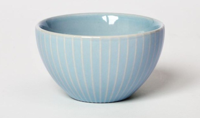 Textured Bowl | Stripes